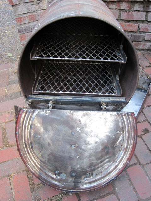 The Wood Fired Barrel Oven Firespeaking