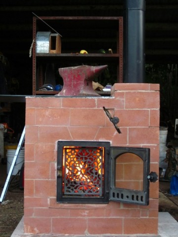 The Cabin Stove A Small Masonry Heater at Aprovecho Research
