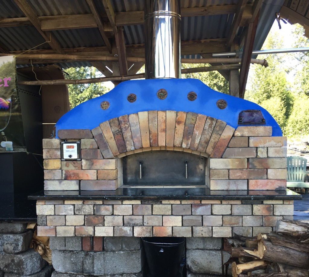 we built this oven for kelly ou0027neill and susan young at wet rock gardens u2013 an absolutely splendid upick flower garden in springfield or